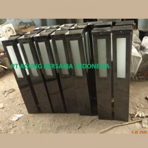 supplier tiang lampu bollard
