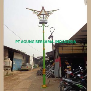Pabrikasi Lampu PJU Dekoratif