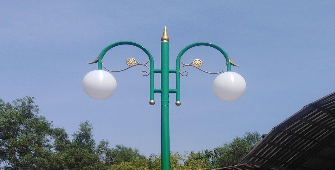 Penggunaan Lampu Taman Klasik