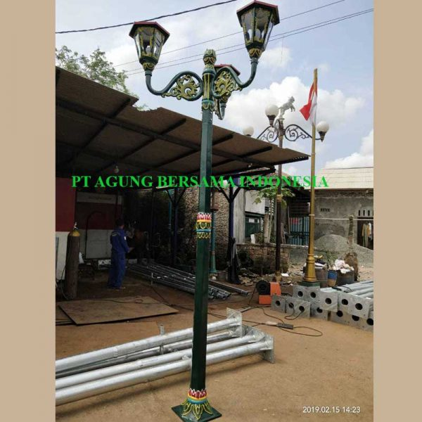 Supplier Tiang Lampu Jalan